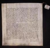 Archivio di Stato di Firenze, Diplomatico, 1369 Febbraio 10, Riformagioni A.P.