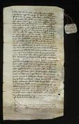 Archivio di Stato di Firenze, Diplomatico, 1342 Agosto 28, Famiglia Ricci