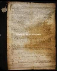 Archivio di Stato di Firenze, Diplomatico, 1362 Giugno 15, Ricci