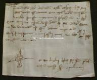 Archivio di Stato di Perugia - Comune di Perugia - Diplomatico - 2601 - Originale - Berarduccio di Ranaldo è dichiarato creditore del comune di Perugia per quindici libbre di denari per essere stato nellesercito contro i fabrianesi con due cavalli.-1271