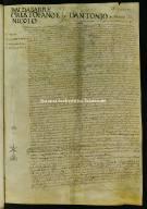 00001.00206 - Archivio di Stato di Perugia - Comune di Perugia - Catasti - Secondo gruppo - Registro 1 - Allibramento 208, intestatario Baldasarre, Cristofano e Nicolò d Antonio de Mennico Petri-26marzo1575