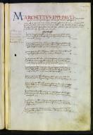 00085.31039 - Archivio di Stato di Perugia - Comune di Perugia - Catasti - Secondo gruppo - Registro 85 - Allibramento 347, intestatario Marchettus Lippi Pauli