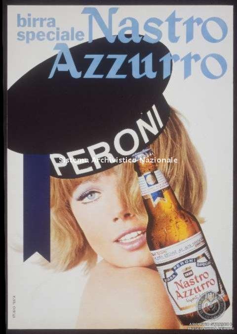 Birra Peroni, manifesto pubblicitario, 1968