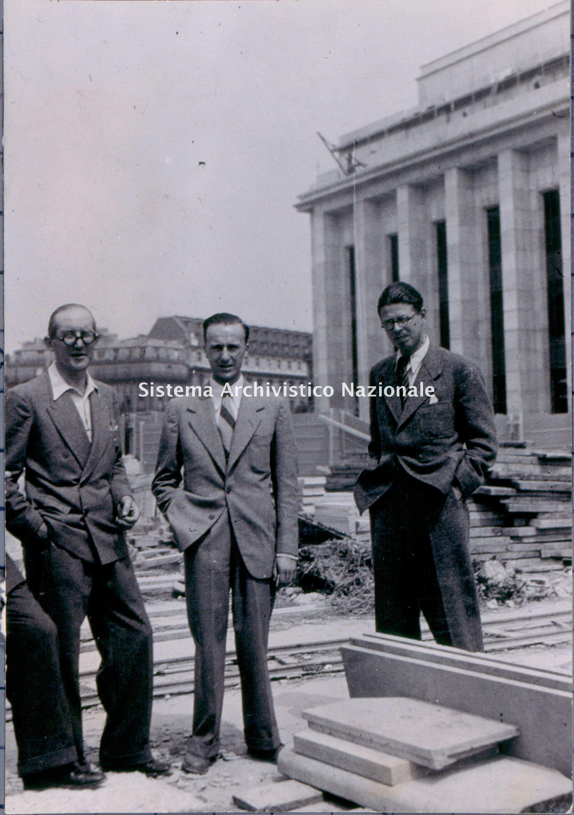 Angelo Bianchetti e Le Corbusier, Parigi 1937