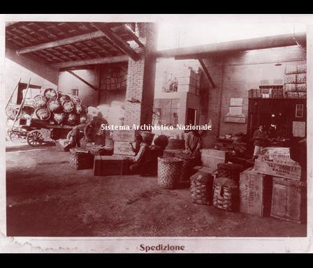 Barilla, stabilimento, Parma 1927