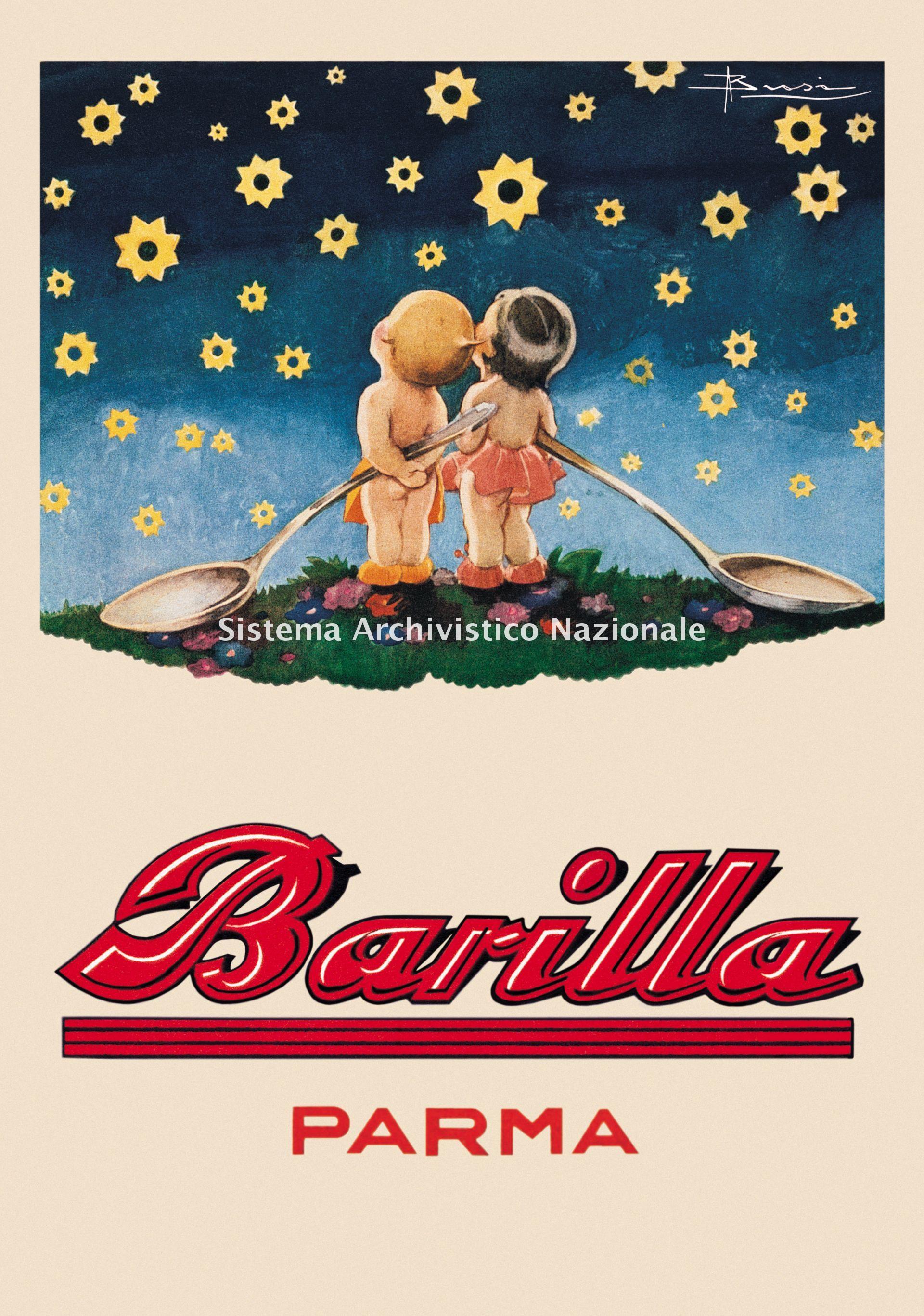 Barilla, calendario, 1931