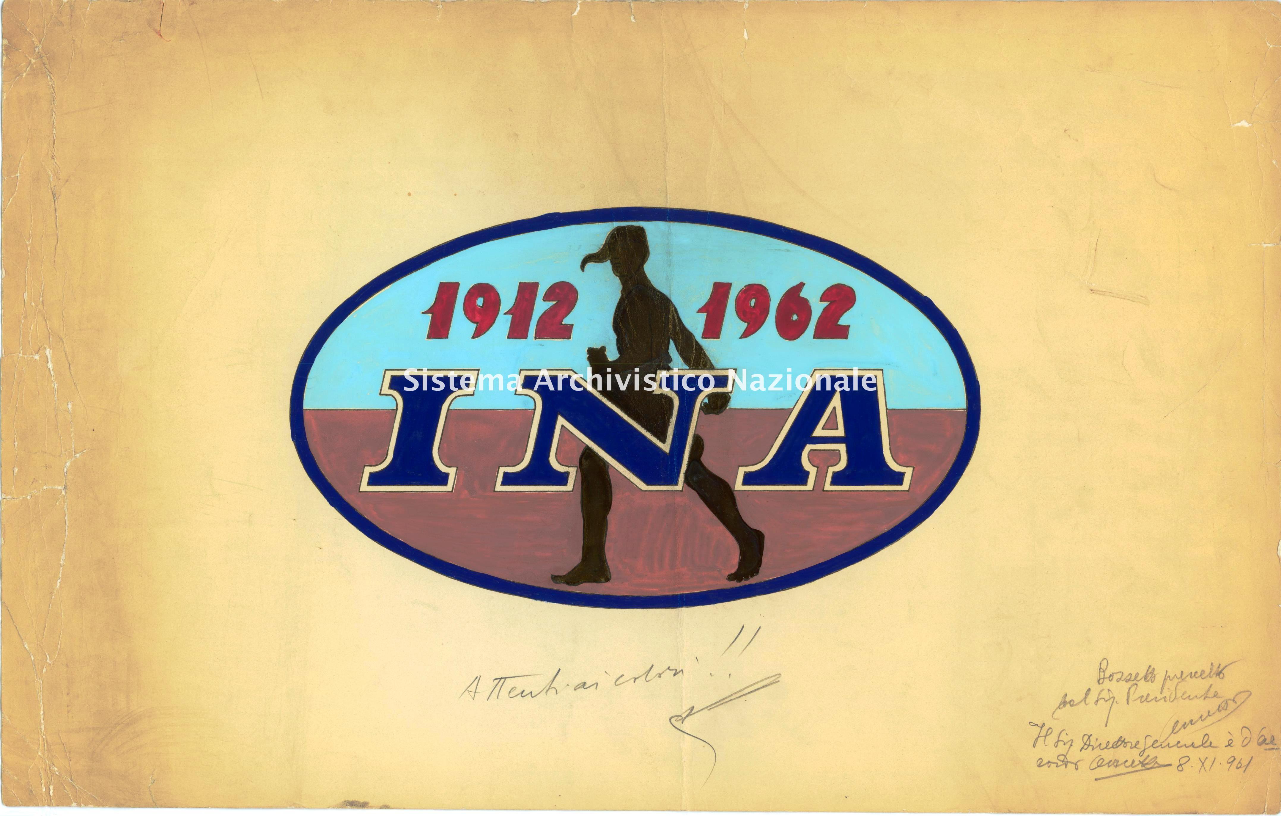 Ina, bozzetto, 1960-70
