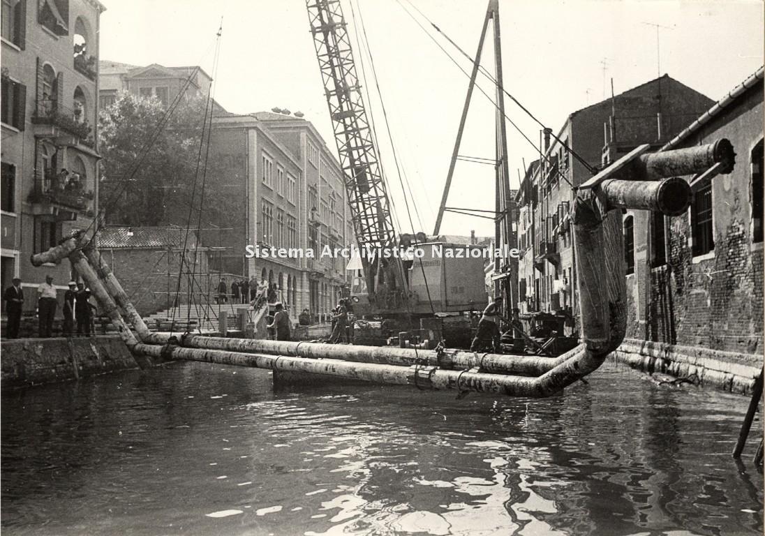 Italgas, Venezia 1962