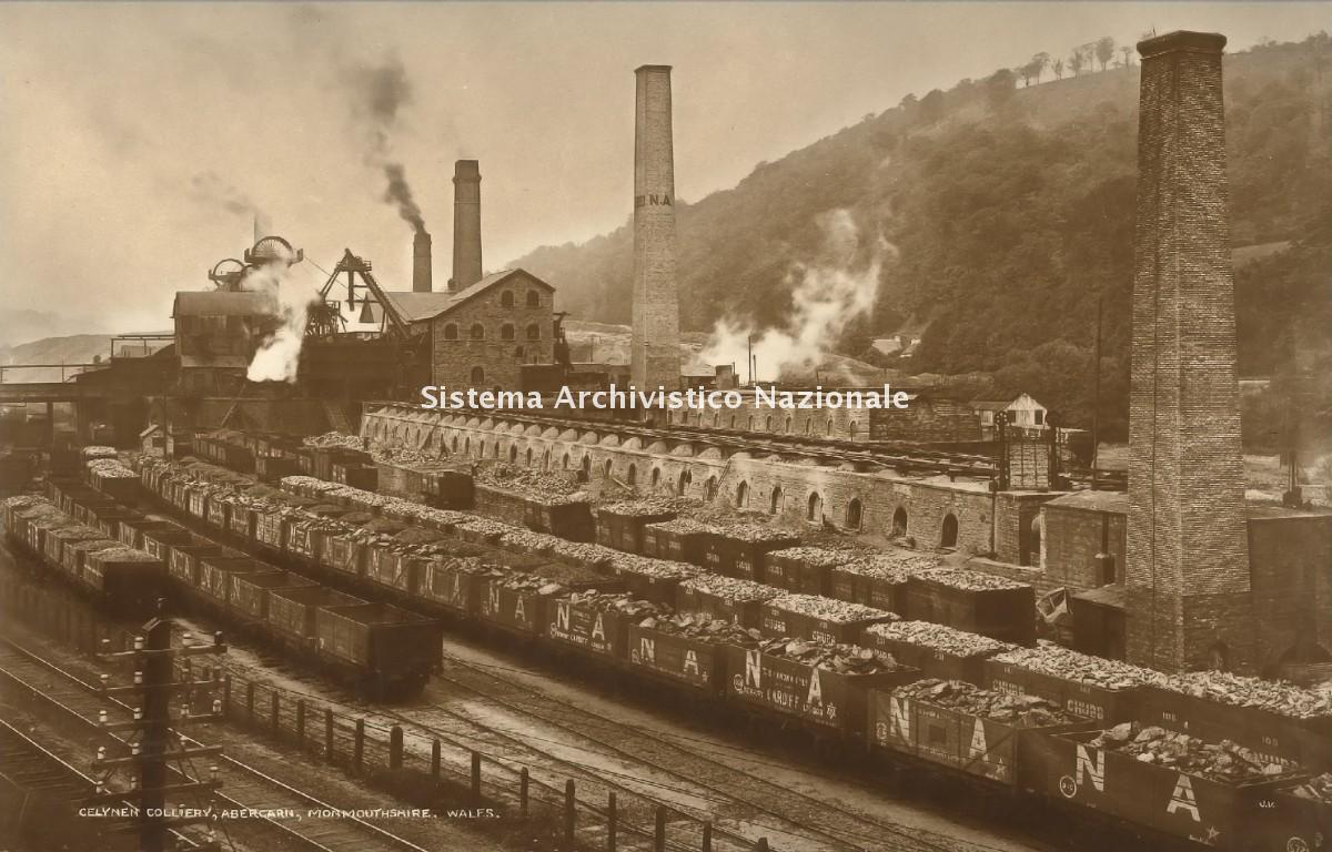 Miniera di carbone, Celynen 1930