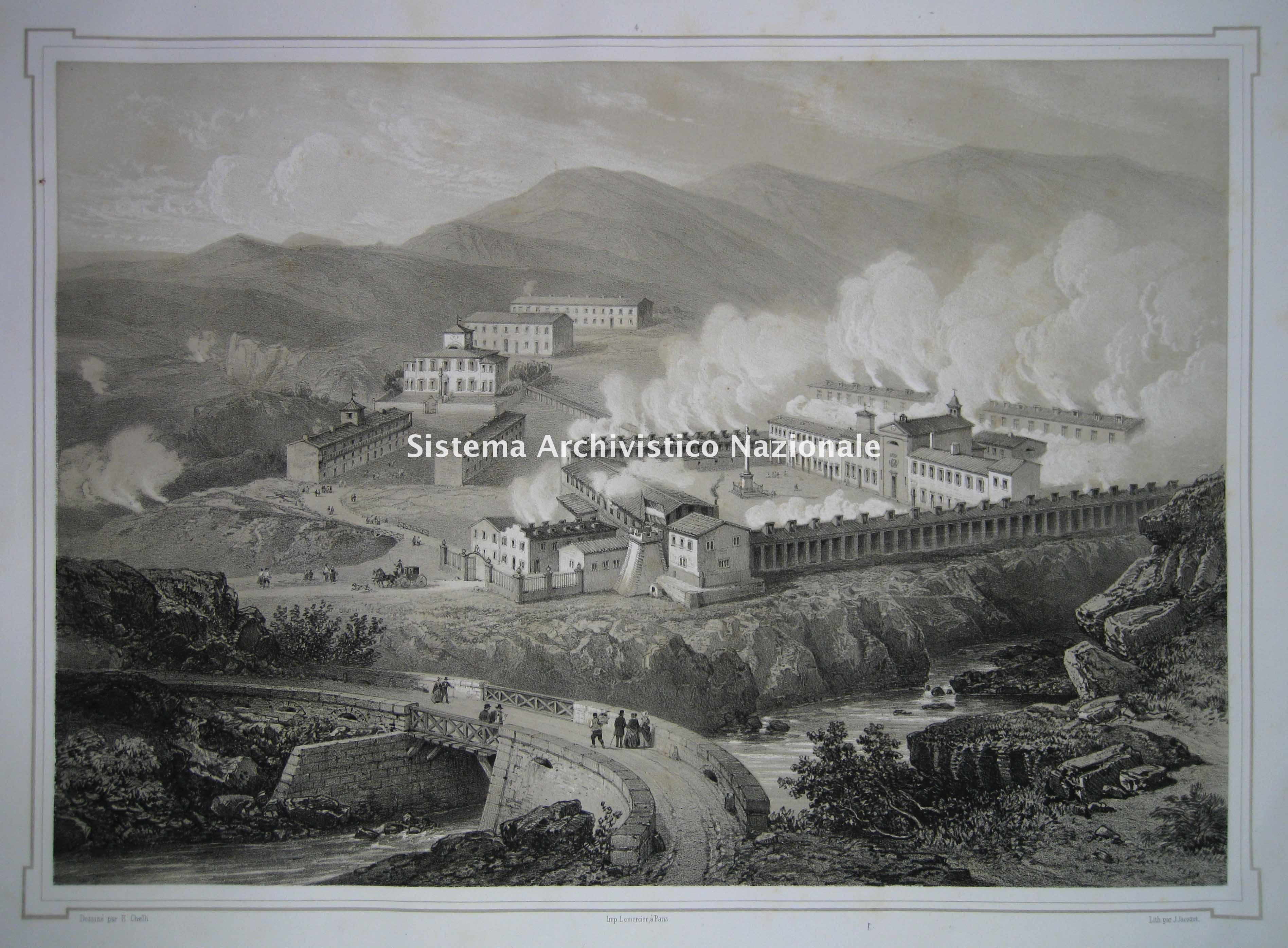 Contea e palazzo di Larderello, 1851