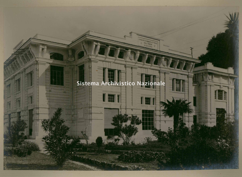 Centrale di Acquoria, 1895-1927