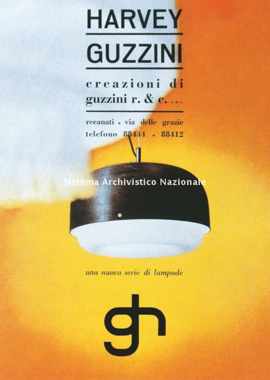 Harvey Guzzini, manifesto pubblicitario, 1965