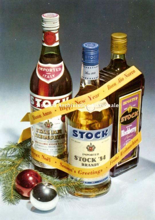 Stock, biglietto d'auguri, sec. XX