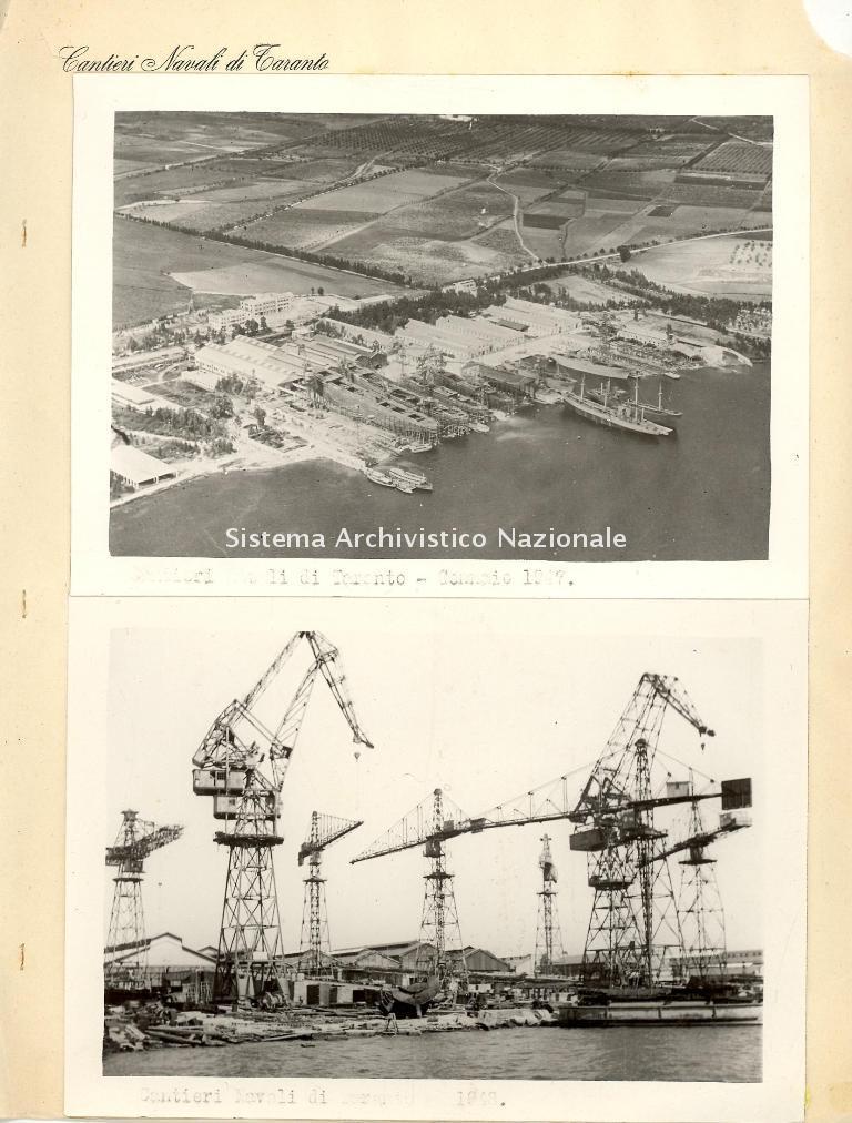 Cantieri navali di Taranto, 1947-1948