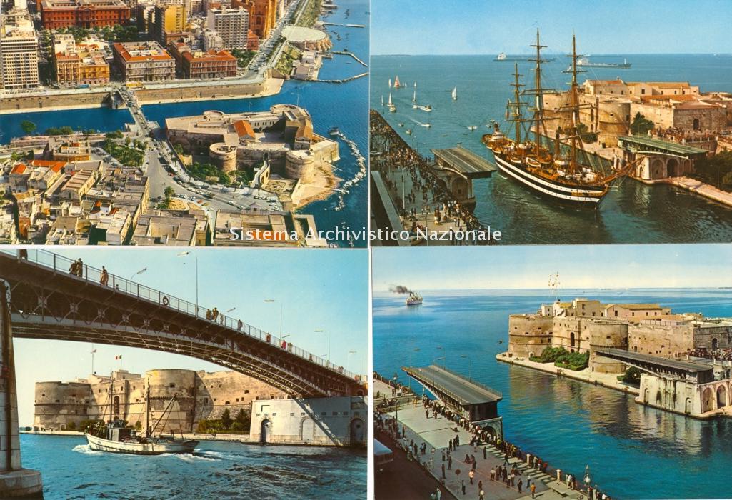 Ponte girevole, Taranto anni '60