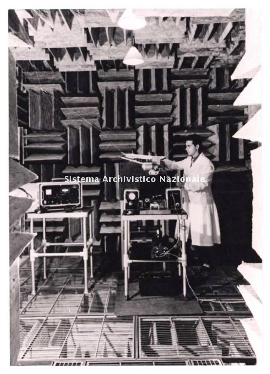 Magneti Marelli, prove fonometriche, 1970