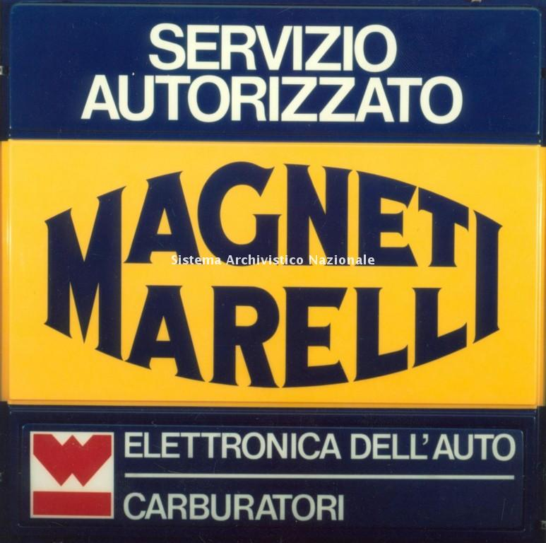 Magneti Marelli, insegna, 1970-1980