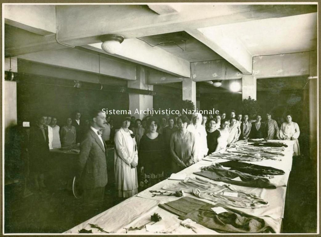 Magneti Marelli, dopolavoro femminile, Sesto San Giovanni 1930