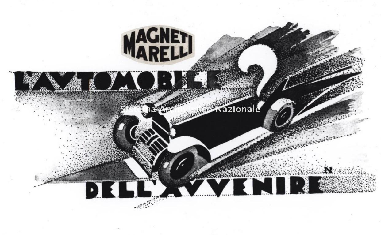 Magneti Marelli, immagine pubblicitaria, 1920