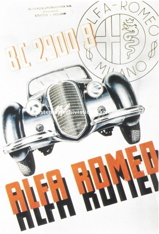 Alfa Romeo, la BC 2900 B, anni'30
