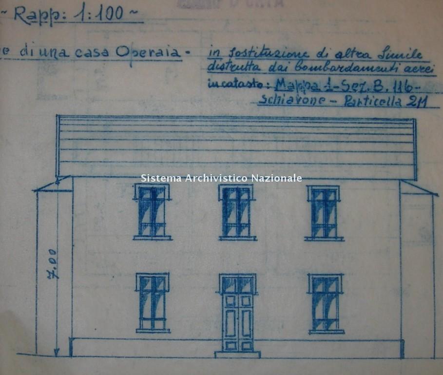 Casa per operai, 1946