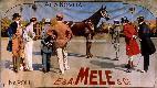 Aleardo Villa, La vendita del cavallo, manifesto...