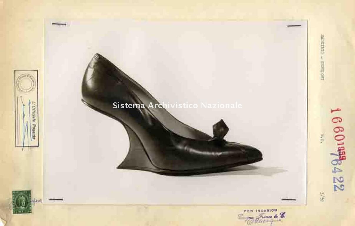 Ditta Libero Rancilio, calzatura, Parabiago 1959