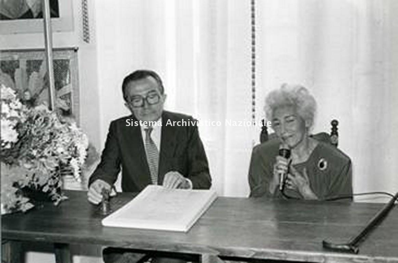 Giulio Andreotti e Rosana Pistolese, Roma 1981