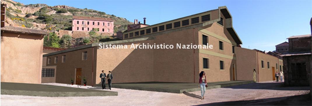 Progetto di restauro del magazzino centrale di Monteponi, 2004 ca.