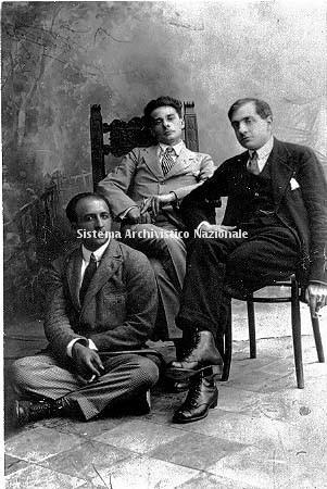 Alberto Savinio, Massimo Bontempelli e Vincenzo Cardarelli, 1920