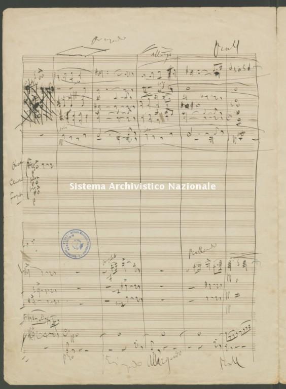 Giacomo Puccini, Preludio sinfonico in La maggiore, 1882