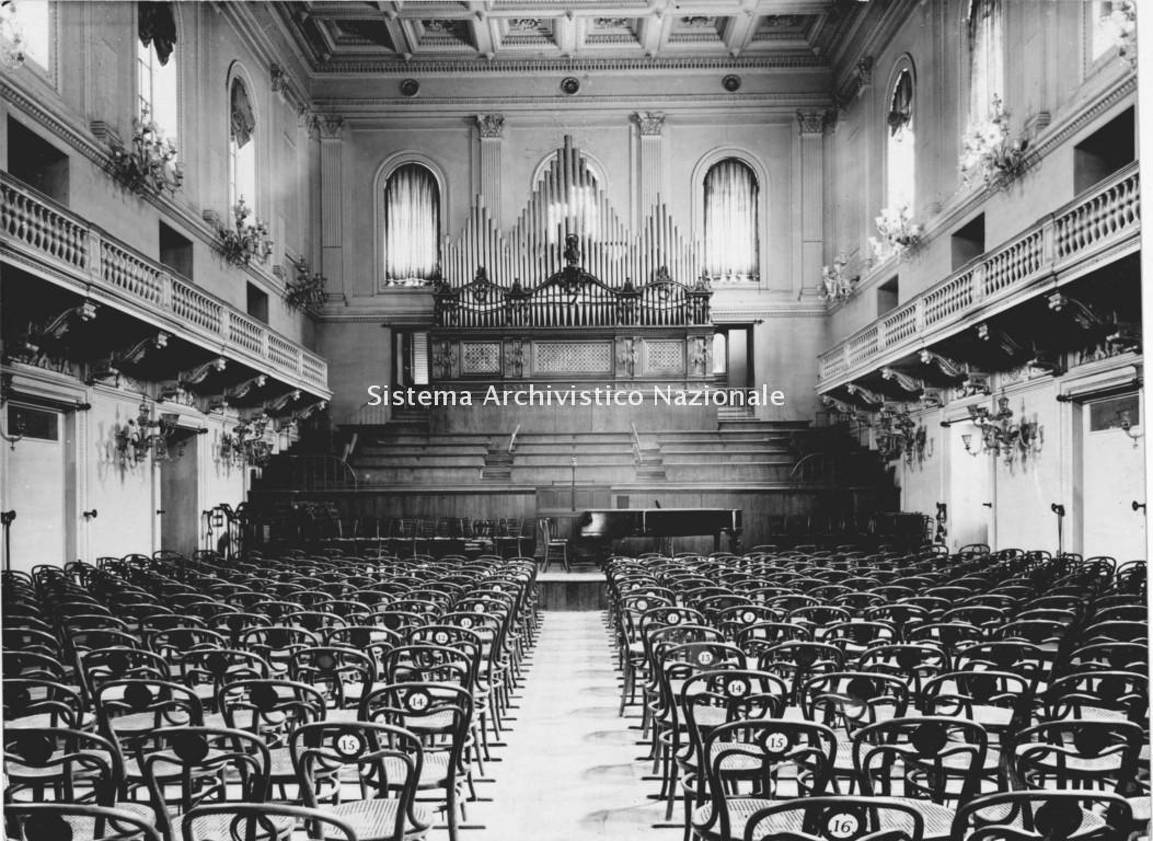 Conservatorio di Santa Cecilia, Sala Accademica, Roma 1955-1960