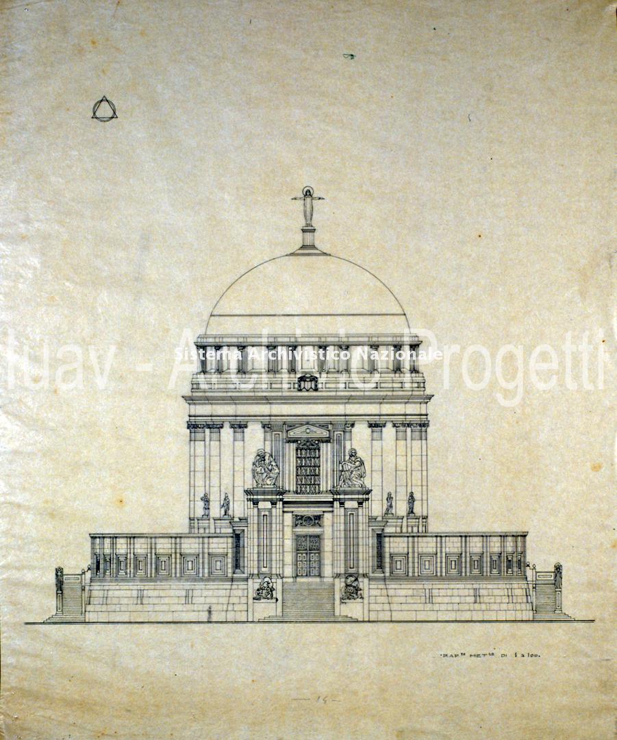 Giuseppe Torres, Tempio votivo al Lido di Venezia, 1918-35