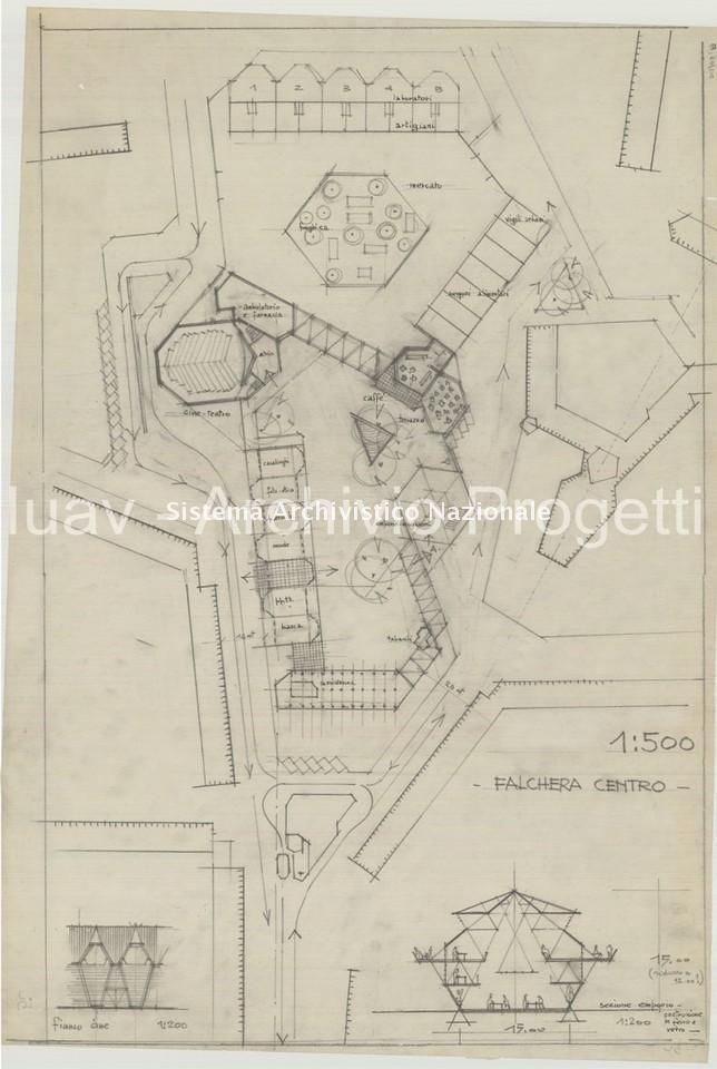 Giovanni Astengo, Quartiere INA-Casa a Falchera, Torino 1950-1960