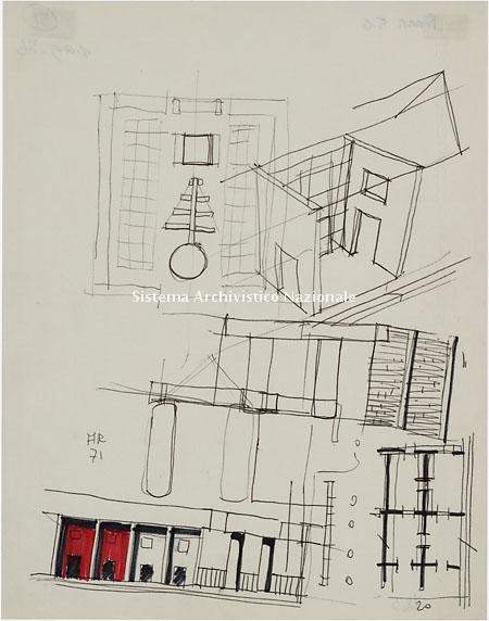 Aldo Rossi, Complesso cimiteriale di San Cataldo, Modena 1971-1976