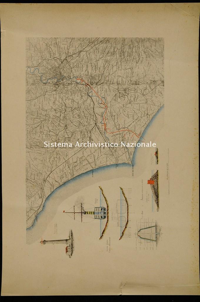 Paolo Orlando, Canale navigabile da Roma a mare, 1896