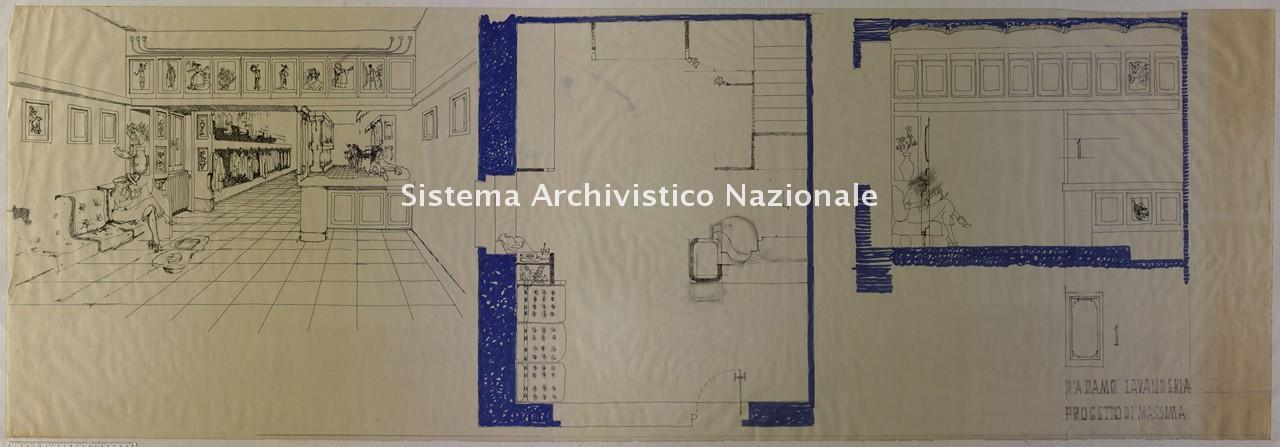 Luciano Tosone, Progetto per Lavanderia a Vasto, sec. XX