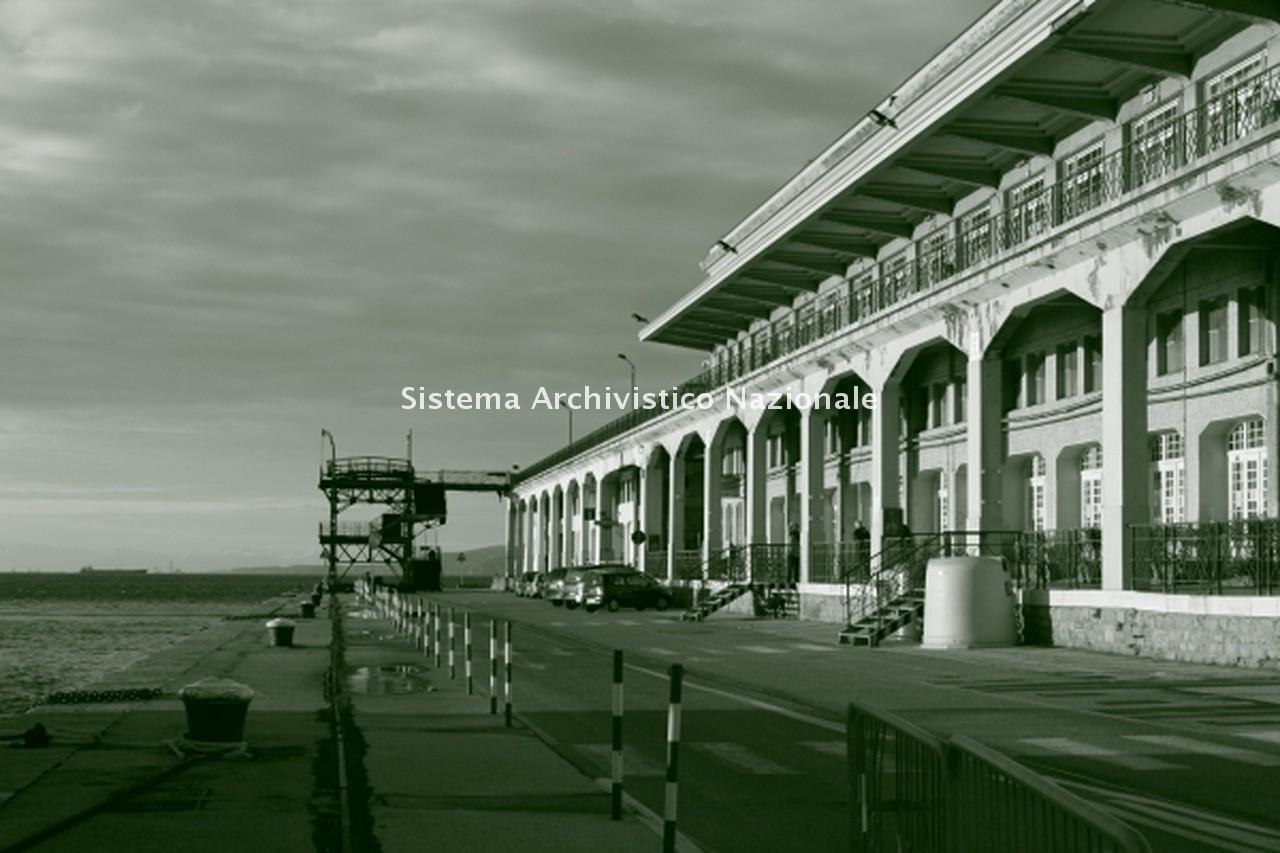 Giovanni Paolo Bartoli, Stazione marittima, Trieste 1984-1992