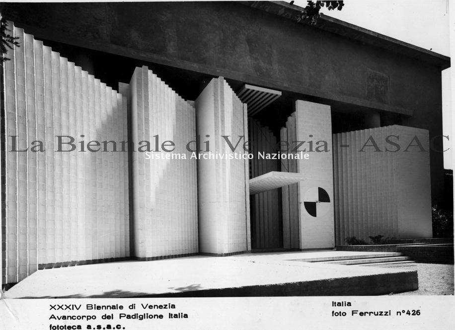 Carlo Scarpa, Padiglione Italia, Biennale Venezia 1968
