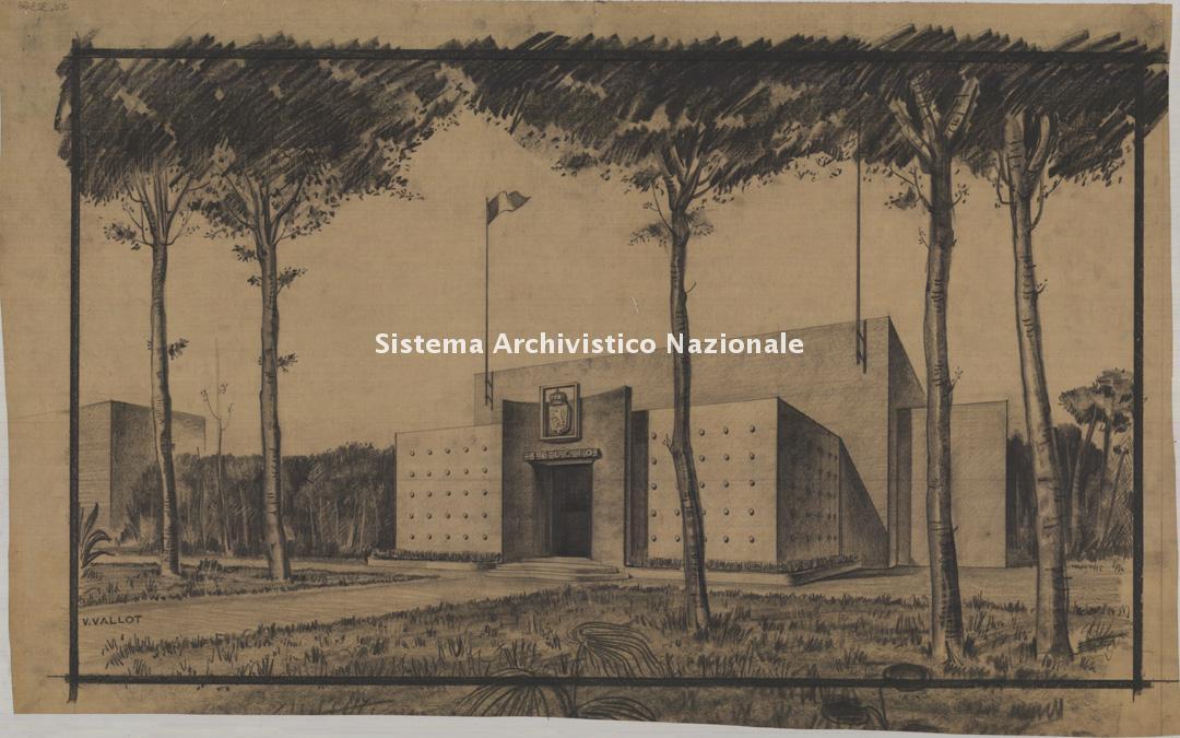 Virgilio Vallot, Padiglione del Belgio, Biennale Venezia 1948