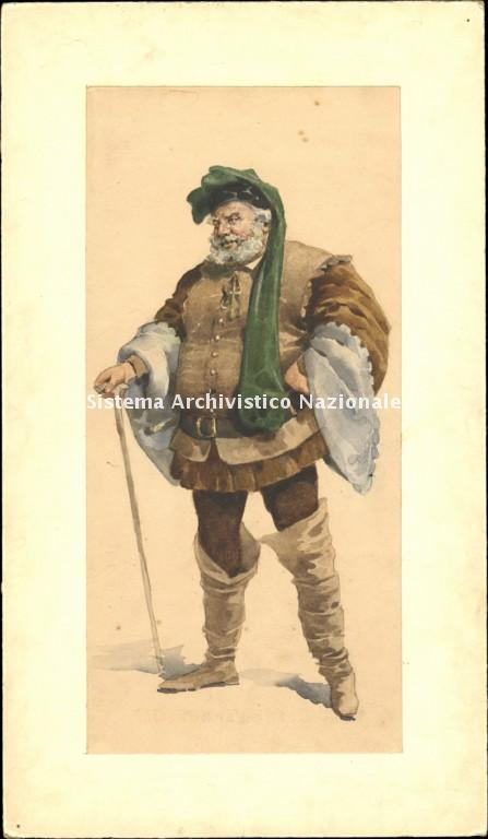Adolf Hohenstein, Falstaff, 1893