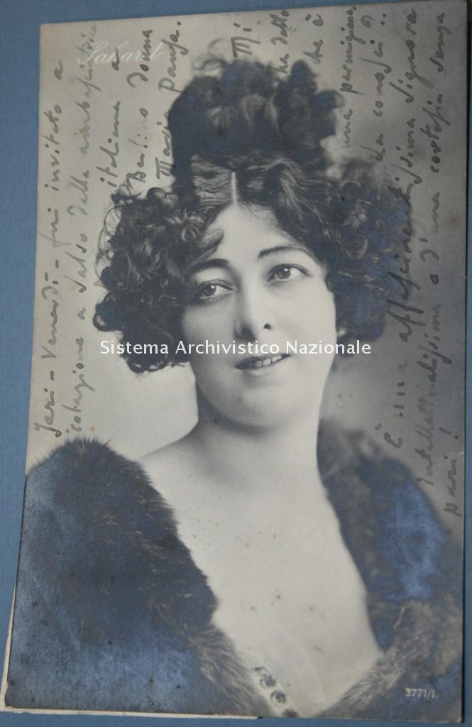 Luigi Illica, cartolina, 1910