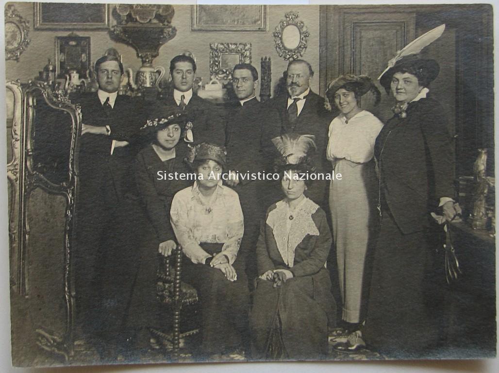 Rudolph Kanzler, Bino Sanminiatelli, Bernardo Blumenstihl, Elsa Olivieri Sangiacomo, Marta Nervi, Roma 1915-1920