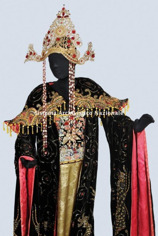 Costume di scena per la Turandot di Giacomo Puccini, 1926