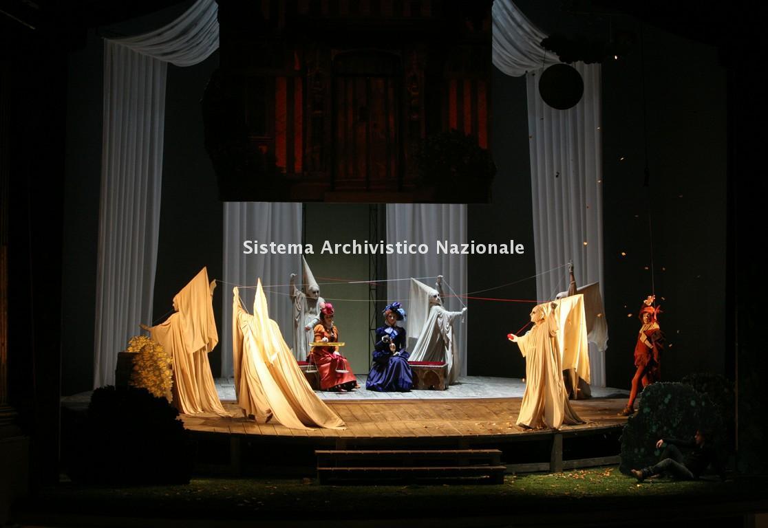Foto di scena del Falstaff, 2008