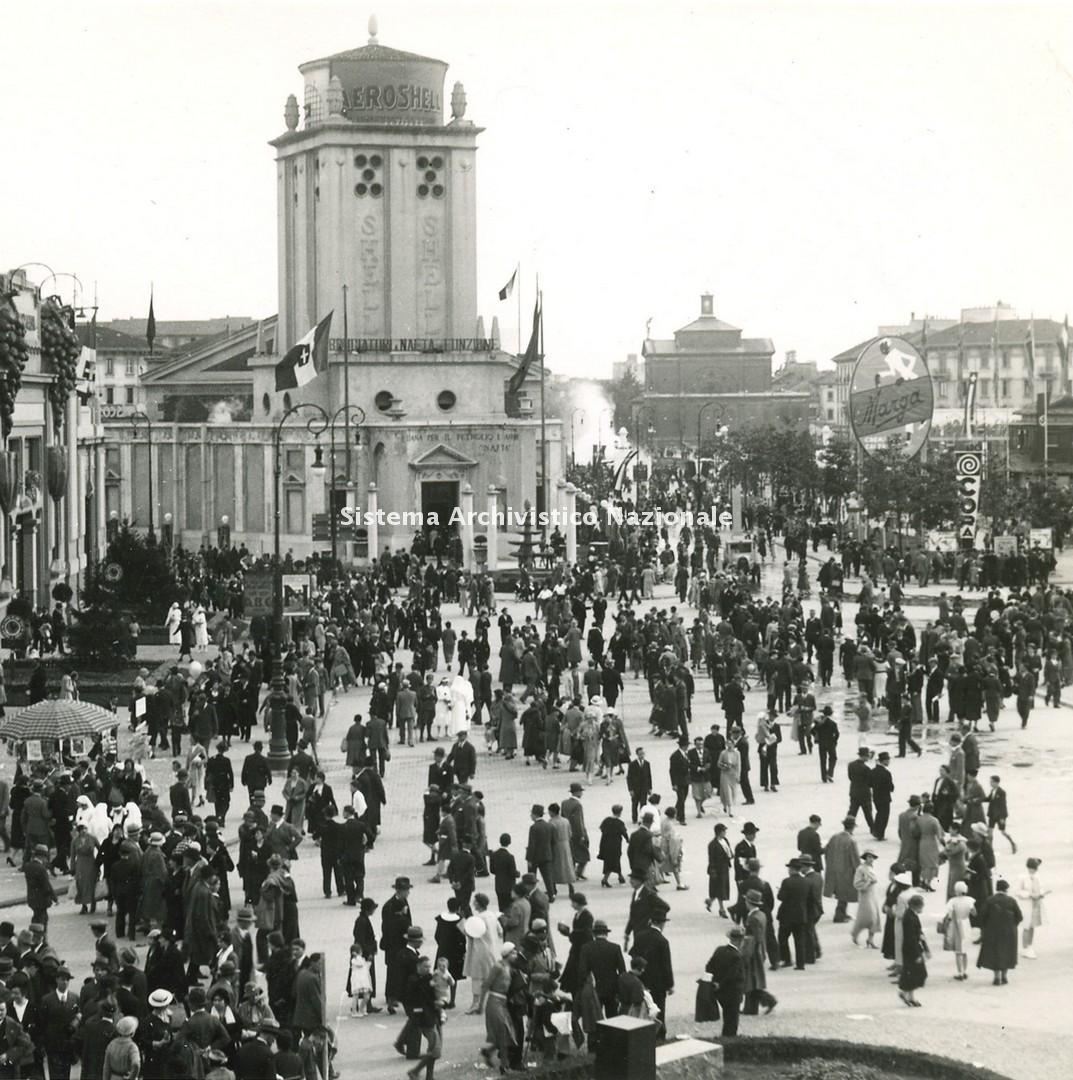 Fondazione Fiera Milano, Padiglione Nafta-Shell, Milano 1928