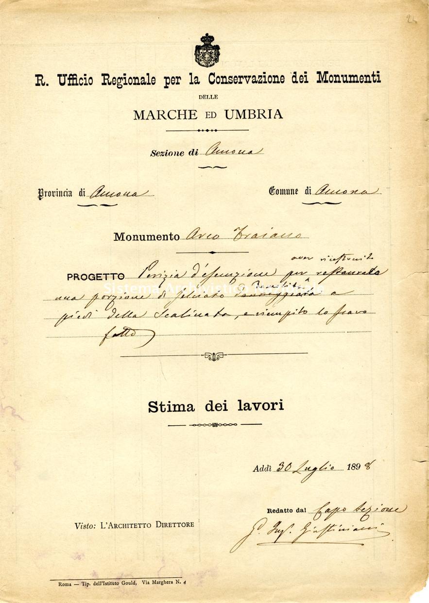 005.0024 Ancona, Arco di Traiano