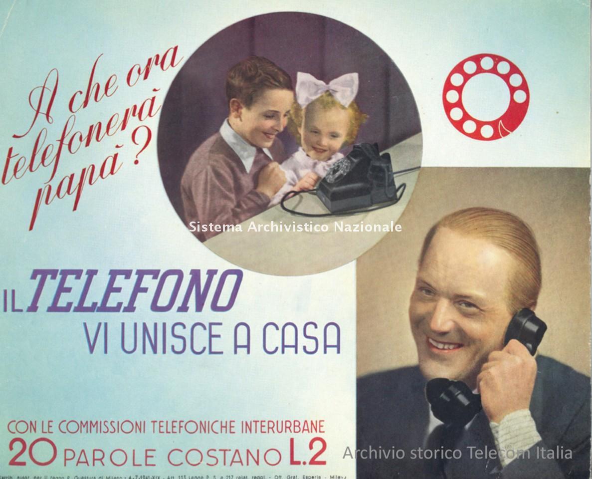 Stet, locandina pubblicitaria, 1941