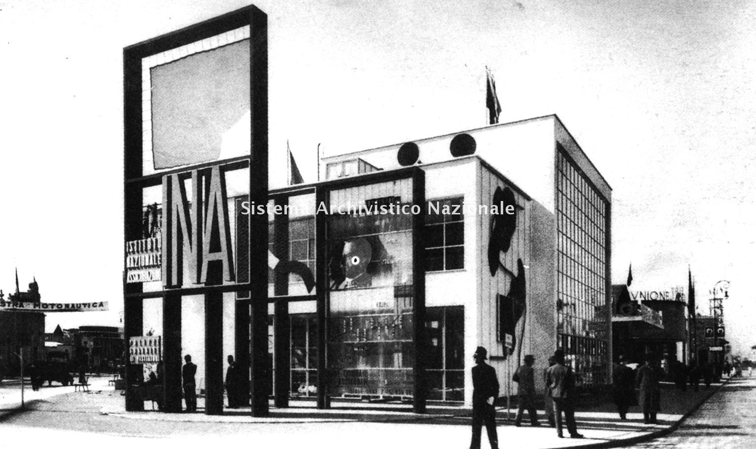 Fiera Campionaria, padiglione Ina, Milano 1935