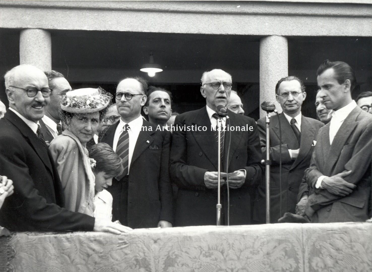 Fiera Campionaria, inaugurazione, Milano 1947